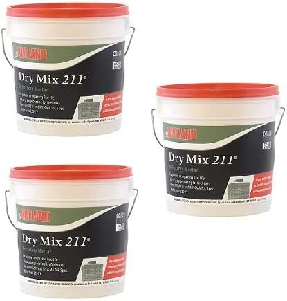 Pack of 2 10 lbs Rutland Products 211 Dry Mix Refractory Cement