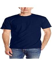 T-Shirts Round Neck Cotton Round Sleeve 6X