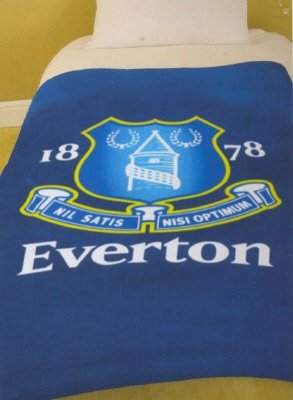 Everton F.C. Official Fleece Blanket Everton FC
