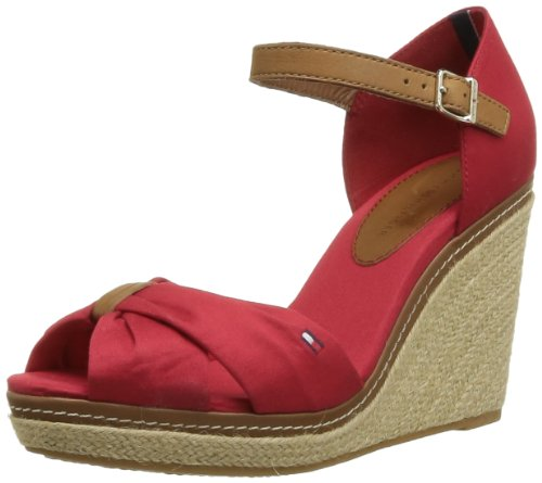 611 Tommy Emery 54D femme Tango Red Espadrilles Hilfiger Rouge pz6pa