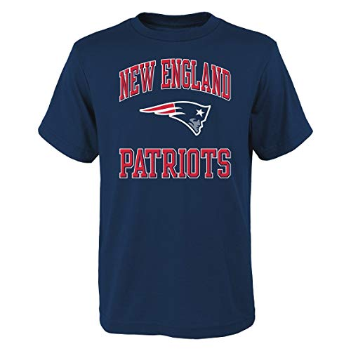 T-shirt Ovation Print (Outerstuff New England Patriots Youth NFL Ovation Short Sleeve T-Shirt)