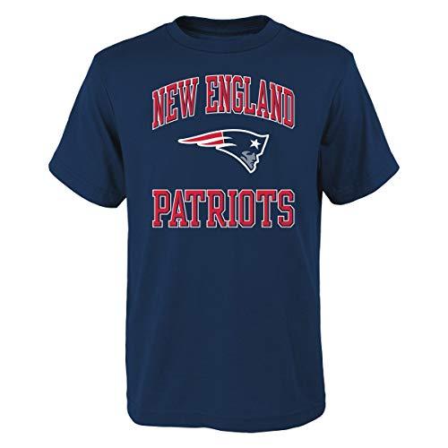 T-shirt Print Ovation (Outerstuff New England Patriots Youth NFL Ovation Short Sleeve T-Shirt)