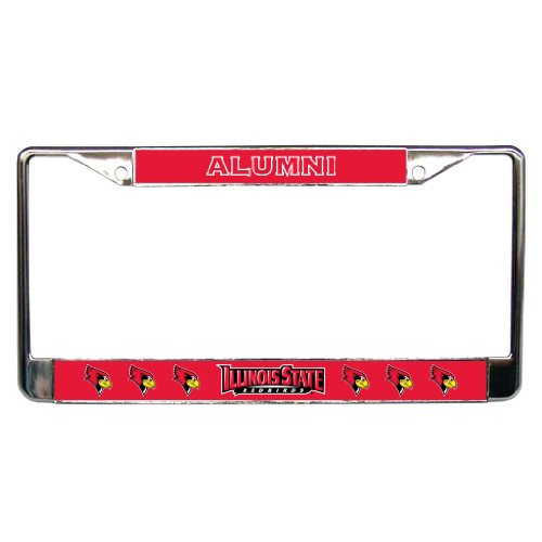 Illinois State University - License Plate Frame - Alumni
