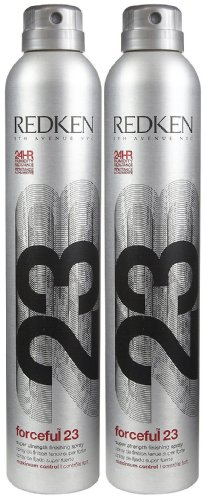 Redken Forceful 23 Super Strength Finishing Spray, 11 oz, 2 pk