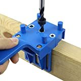 A-XINTONG 8PCS Woodworking Dowel Jig Pocket Hole