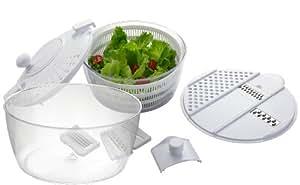 Big Boss Vegetable Grater and Salad Spinner, 8-Piece Set