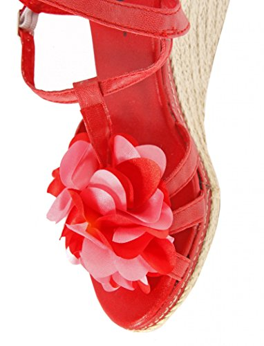 Sandalias de Mujer URBAN B028620-B7200 RED