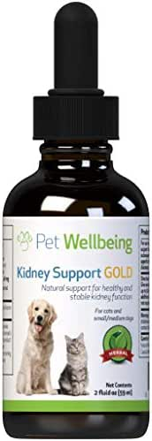 Pet Wellbeing - Kidney Support Gold for Dogs - Natural Support for Canine Kidney Health (2 Ounce)