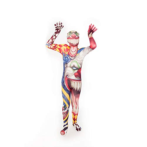 Morphsuits Kids Clown Monster Costume - Large 4'-4'6 / 10-12
