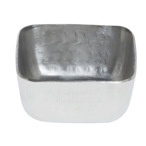 American Metalcraft Square Hammered Sauce Cup 1.5 Ounce