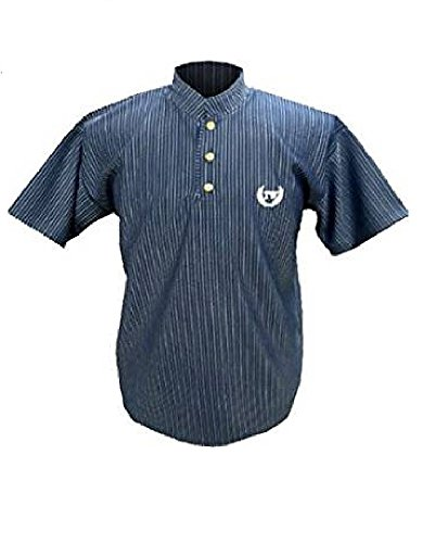 da uomo sportivo Abbigliamento blu T tunisino shirt scuro fItx1z