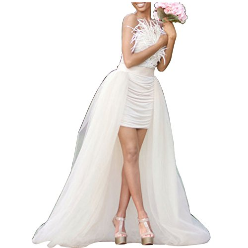 Minyue Women Sexy Mesh 4 Layers Long Tulle Skirt Floor Length Wedding Party Tutu Skirt (Tutu Sexy)