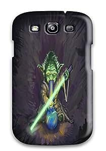 Special DanRobertse Skin Case Cover For Galaxy S3, Popular Marijuana Weed Star Wars Humor Phone Case