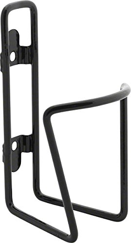 TwoFish Bolt-On Water Bottle Cage: Vinyl-Coated Black, No Bottle Included by Twofish