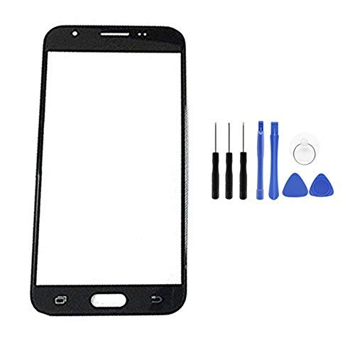 Screen Glass Panel Lens Replacement for Samsung Galaxy J7 Sky Pro/Galaxy J7 2017 SM-J727A J727U J727T J727T1 J727R4 J727V J727 J727P SM-S727VL S737TL (Not LCD &Not Digitizer)