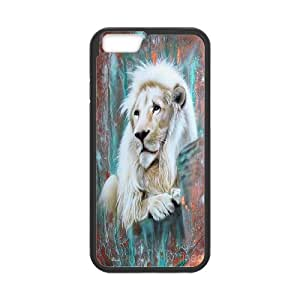 High quality animal Lion-The king of the forest series protective case cover For Apple Iphone 6 Plus 5.5 inch screen H0U94-A694376