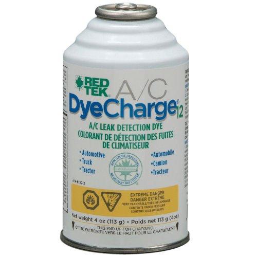 RED TEK DyeCharge12 A/C Leak Finder (4 oz. can)