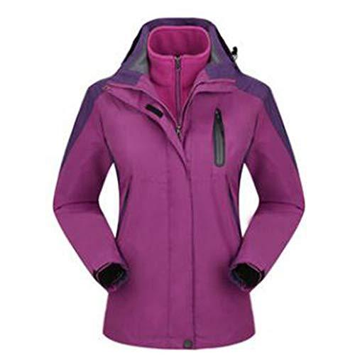 Signora Abbigliamento Outdoor Lai Wu Impermeabile Vestiti Caldo Rampicanti L'usura Purple Giacca I qOUvE4zU