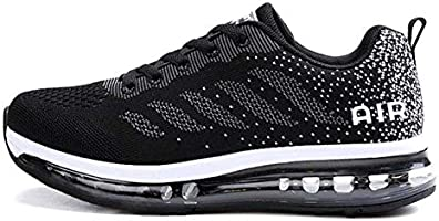 Axcone Homme Femme Air Running Baskets Chaussures Outdoor Running Gym Fitness Sport Sneakers Style Multicolore Respirante...