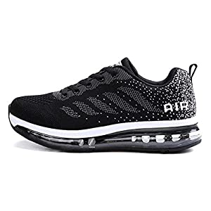 Axcone Homme Femme Air Running Baskets Chaussures Outdoor Running Gym Fitness Sport Sneakers Style Multicolore…