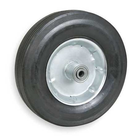 Solid Rubber Wheel, 10 in., 300 lb. ()