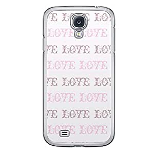 Loud Universe Samsung Galaxy S4 Love Valentine Printing Files A Valentine 91 Printed Transparent Edge Case - Multi Color