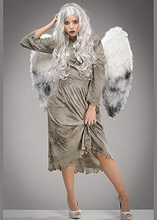 Struts Disfraz de ángel caído de Halloween para Mujer con alas ...