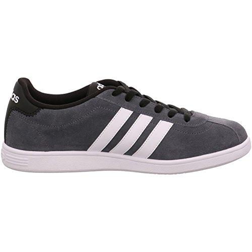adidas VLCOURT - Zapatillas deportivas para Hombre, Gris - (ONIX/FTWBLA/NEGBAS) 46 2/3
