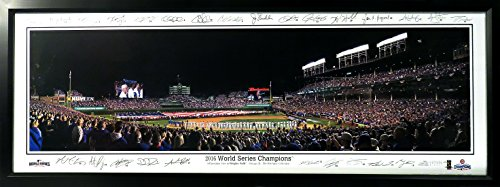 Chicago Cubs World Panoramic Framed product image