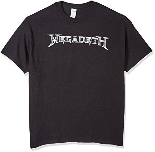 FEA Men's Megadeth Classic Logo T-Shirt, Black, Small