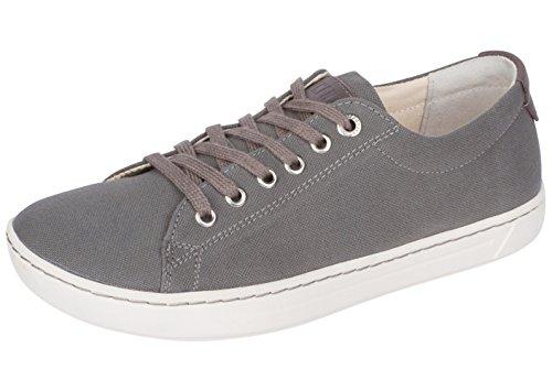 Birkenstock Womens Arran Sneaker Grey Canvas 37