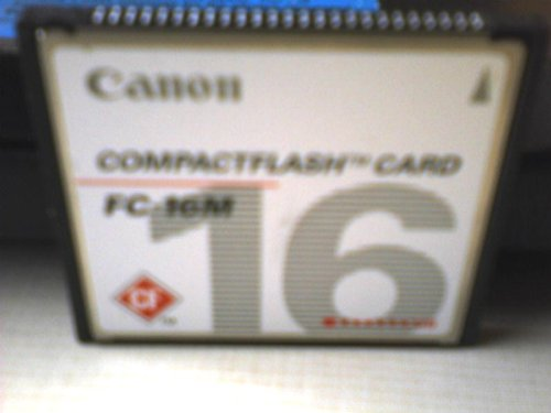 Canon Canon Compact Flash Card Model#fc-16m Canon, Inc. Canon
