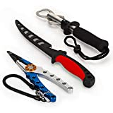 Best Fillet Knives Kits - Fishing Kit with Fish Fillet Knife, Fish Lip Review