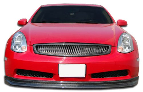 Carbon Creations ED-GQJ-054 D-Spec Front Lip Under Spoiler Air Dam (non sport) - 1 Piece Body Kit - Fits Infiniti G Coupe 2003-2007