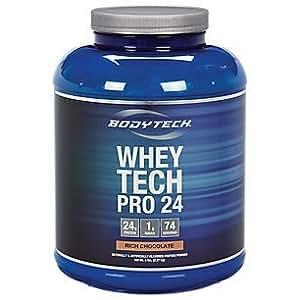 BodyTech Whey Tech Pro 24 - Rich Chocolate (5 Pound Powder)