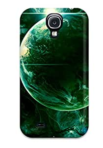 Leana Buky Zittlau's Shop 2182273K14517328 High Quality Shock Absorbing Case For Galaxy S4-green Universe