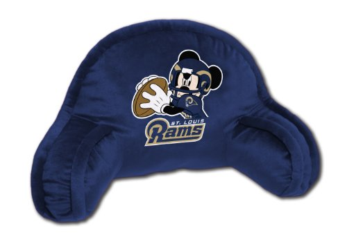 (The Northwest Company Officially Licensed NFL St. Louis Rams Field Goal Co Disney's Mickey Small Bedrest )