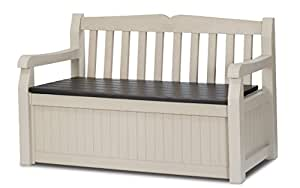 Keter Eden Garden Bench - Banco, color beige