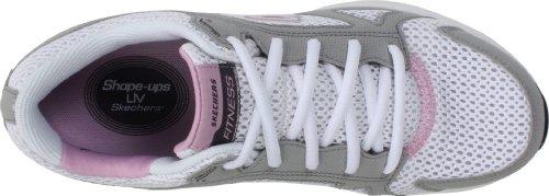 Skechers Usa Femmes Liv-smart Sneaker Blanc Rose