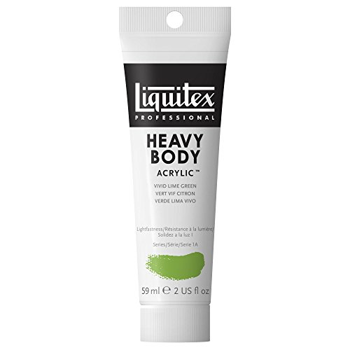 Liquitex Professional Heavy Body Acrylic Paint 2-oz tube, Vivid Lime (Heavy Green)