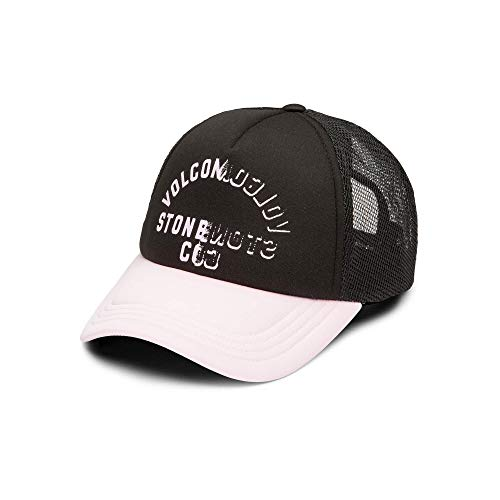 Volcom Junior's Final Rose Trucker Hat, Faded Pink, One Size Fits All