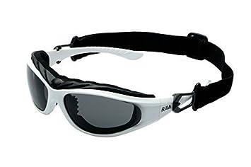 Ravs Gafas para Motorista Gafas de Sol Blanco Incl. Correa ...