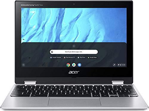 🥇 Acer Chromebook Spin 311 – Ordenador Portátil Táctil convertible 11.6″ HD