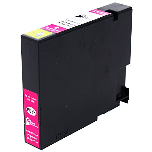 Replacement Canon PGI-2200 XL Magenta Pigment Ink Tank Cartridge - Compatible with Canon Maxify Mb5020, Canon Maxify Mb5320, Canon Maxify Ib4020, Canon Maxify Mb5420, Canon Maxify (2200 Compatible Magenta Ink)
