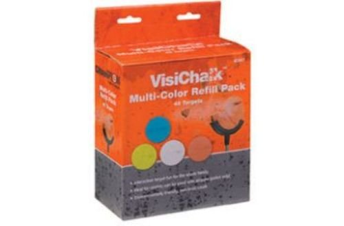 - VisiChalk 3 Multi-Color Targets, 48ct