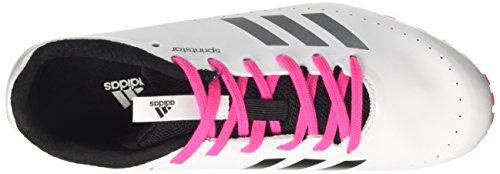 adidas Damen Sprintstar W Laufschuhe Mehrfarbig (Ftwr White/core Black/shock Pink S16)