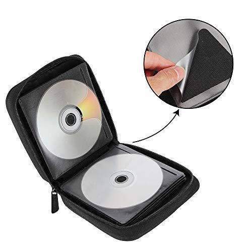 Amazon.com: Siveit - Estuche para CD y DVD (32 discos): Home ...