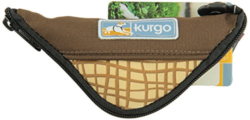 Kurgo Zippy Travel Bowl Brown