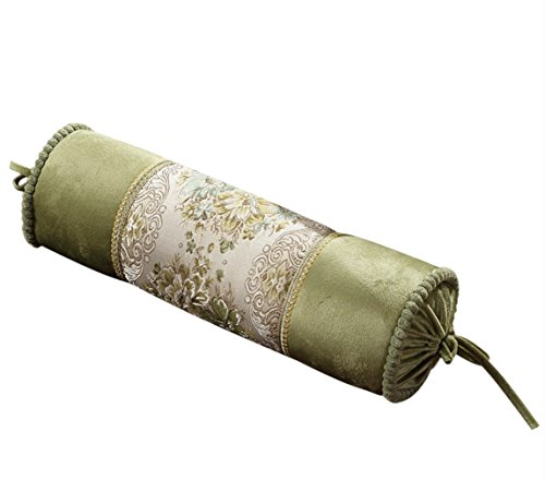 (EONSHINE Elegant Fluffy Down Alternative Filled Cylindrical NeckRoll and Cervical Pillow Bolster Support)