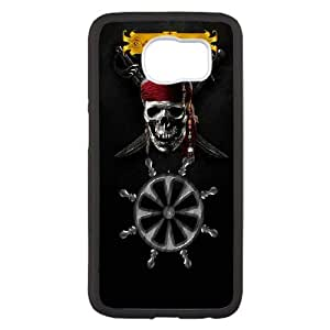 Charla como un caso del teléfono celular del día del pirata QG35BS7 funda Samsung Galaxy S6 funda M4PD3F8IF